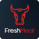 Meat Shop PSD Template - FreshMeat