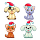 Funny Christmas Dogs and Cats