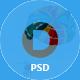 DODGE App Landing PSD Template