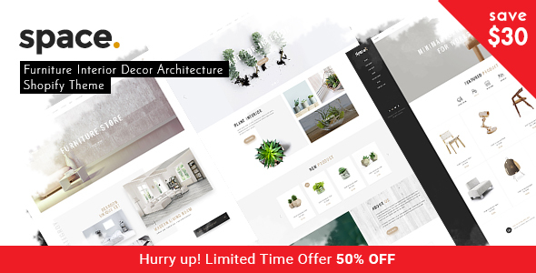 Download Space - Minimal Furniture Interior Decor Architecture Shopify Theme nulled download