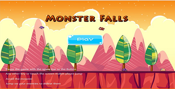 Download Monster Falls nulled download