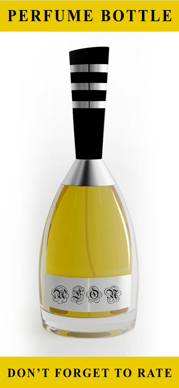 Pefume Bottle (Concept Design) - 3DOcean Item for Sale