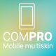 Compro - Mobile Multiskin Template