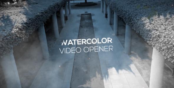 VideoHive Watercolor Video Opener 19189492