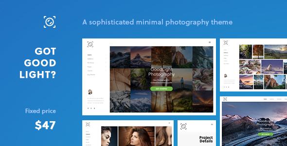 Download GoodLight - Horizontal WordPress Theme for Photographers