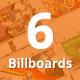 Bundle of 6 Multipurpose Billboard Banners