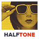 Halftone Art Action