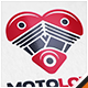 Motorcycle Love Logo