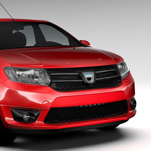Dacia Sandero 2015 - 3DOcean Item for Sale