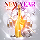 New Year Party Flyer Template 3