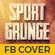 Sport Grunge Facebook Timeline Cover