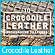 10 Crocodile Leather Background Textures