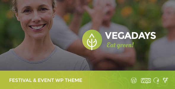 VegaDays - Vegetarian Food Festival or Event WordPress Theme