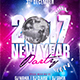 New Year Party Flyer Template 5