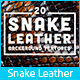 20 Snake Leather Background Textures
