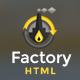 Factory Industrial - Engineering & Industrial HTML5 Template