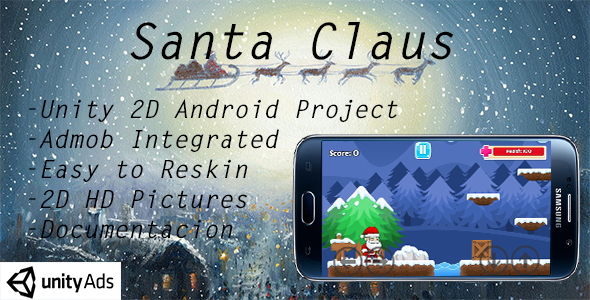 Download Santa Claus Game + Admob ads nulled download
