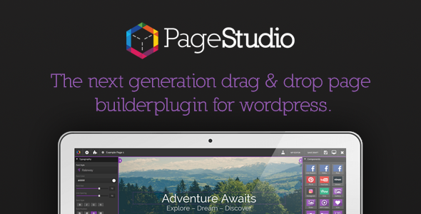 PageStudio: Next Generation Page Builder For WordPress - CodeCanyon Item for Sale
