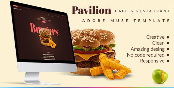 Pavilion - Restaurant & Cafe Muse Template
