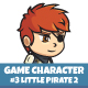 Pirate #2 Sprite Character