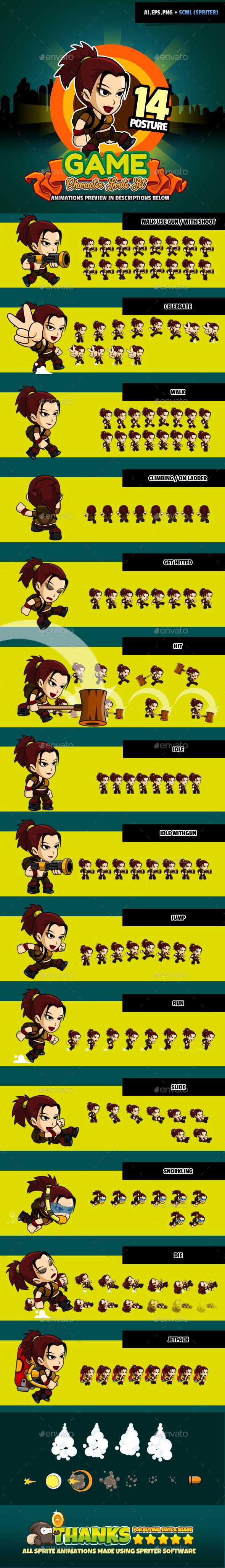 Character Set V10 (Sprites)