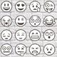 Big 36 Outlined Vector Emoji