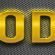 12 Gold Text Effect Style Vol 01