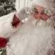 Santa Claus Posing for Photo and Realising He Is Being Filmed