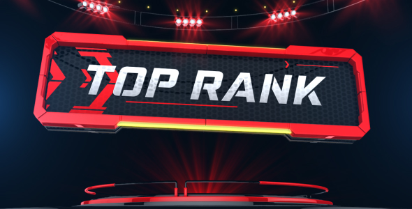 Top Rank Fighting Sports After Effects Templates F5 Design