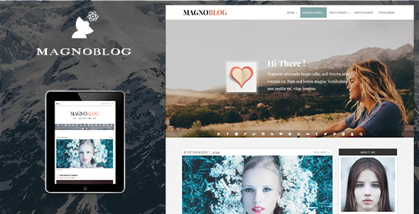 Download Magnoblog for WordPress nulled download