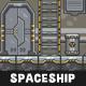 Spaceship Game Tileset