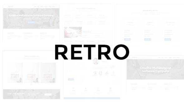 Retro - Multipurpose Business Theme