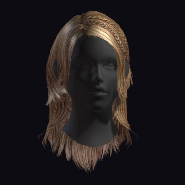 Hair 3 - 3DOcean Item for Sale