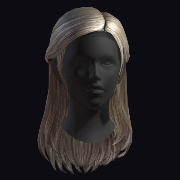 Hair 4 - 3DOcean Item for Sale