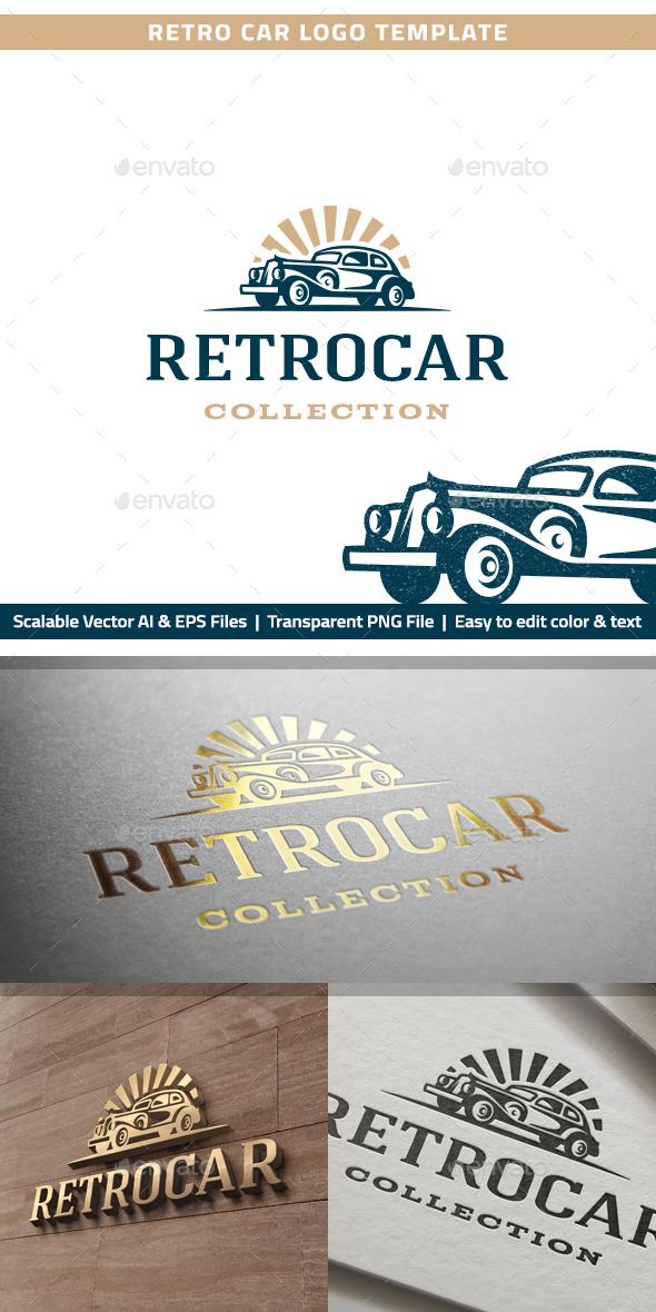 Retro Car Logo