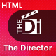 The Director - Film Director & Video Portfolio HTML Template