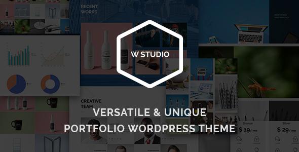 Download W Studio - Creative Portfolio WordPress Theme nulled download