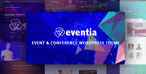 Download Eventia - Conference & Event Responsive WordPress Theme nulled download
