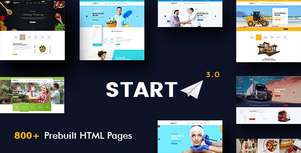 Start - Basic Business HTML5 & CSS3 Template
