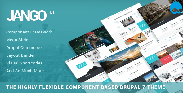 preview.  large preview - Jango | Highly Flexible Component Based Drupal Theme