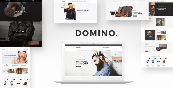 Download Domino - DRAG & DROP Fashion Responsive Shopify Theme nulled download