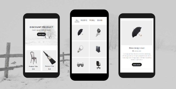 Folio - Portfolio Mobile Template
