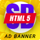 Online shopping - HTML Animated Banner 11