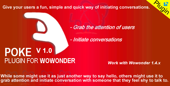 Download Plugin Poke For Wowonder nulled download