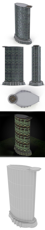 skyscraper_3 - 3DOcean Item for Sale