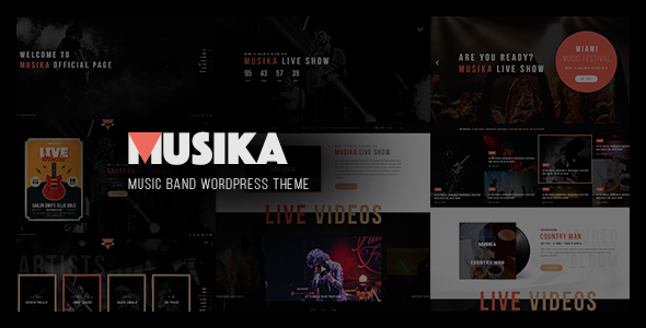 Download Musika - Music Festival & Band WordPress Theme nulled download