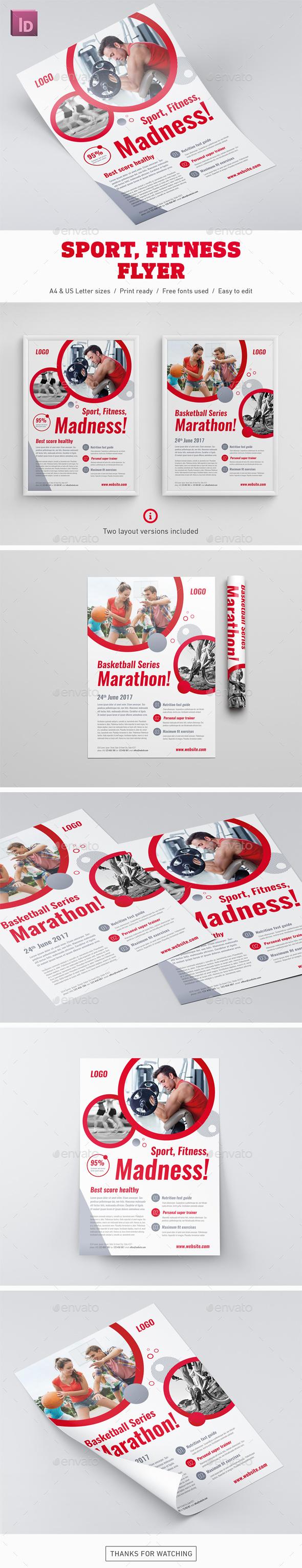 Sport Fitness Flyer