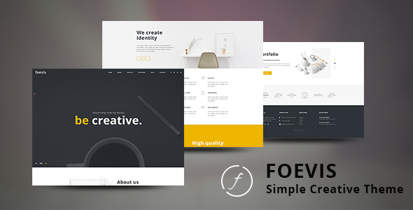 Download Foevis - A WordPress Theme For Creative Agency nulled download