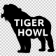 Tiger Howl Silhouette