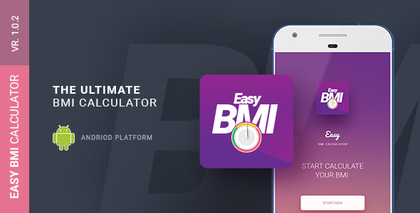 Easy BMI Calculator | Android Studio Mobile Application - CodeCanyon Item for Sale